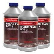 08798-9008 Жидкость тормозная DOT-3, 0.4L