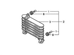 15605-ZN1-000 Радиатор масляный